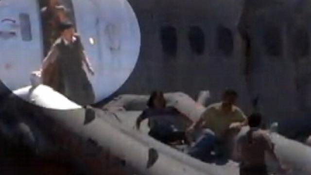 Video Shows San Francisco Crash Passengers' Escape