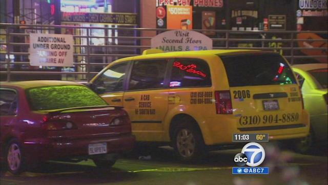 Cab driver killed after altercation at Hawthorne strip mall