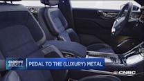 Pedal to the (luxury) metal