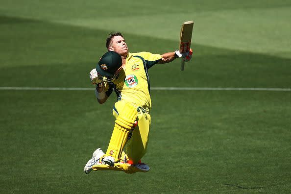 Warner has an average of 40.54 in IPL