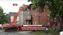 Collapsing Hartford Building Is Demolished