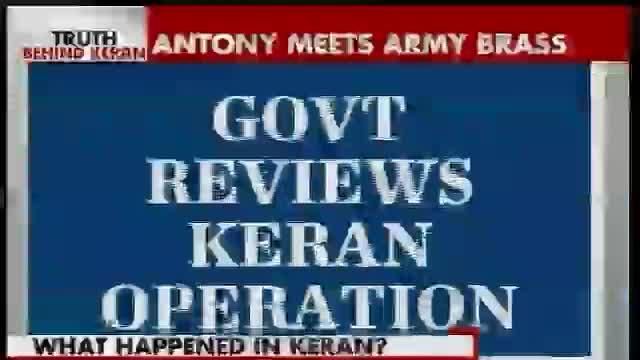 Indian Army's version of Keran incursion comes under question
