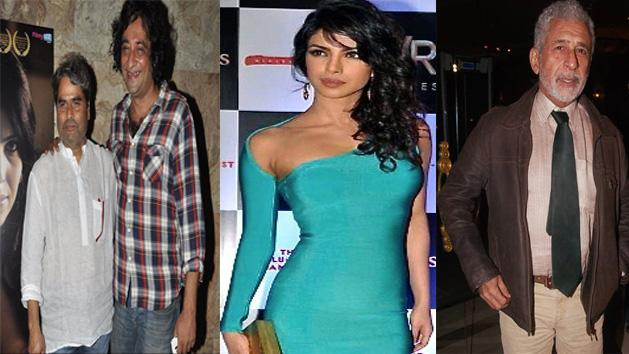 Celebs at the premier of The Reluctant Fundamentalist