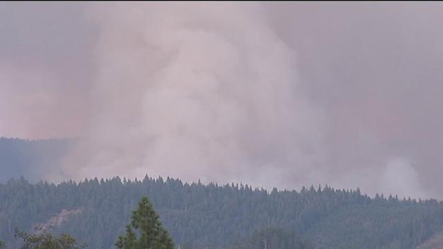 Nearly 15K Acres Burned, 1,800 Exhausted Firefighters Continue Fight