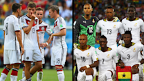 The dominant players to watch in the Germany-Ghana match