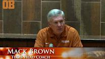 Mack Brown compares this weekend to 2010