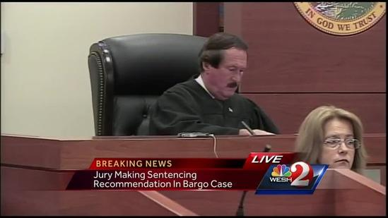 Raw video: Jury recommends death penalty for Michael Bargo