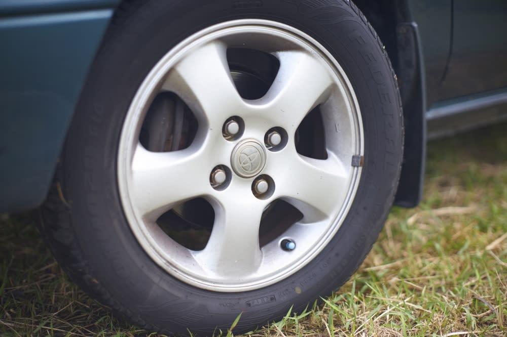 Corolla-04 L-Touring等級已經配備鋼圈
