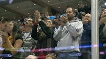 Oak Creek officer honored at Admirals game