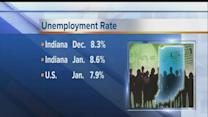 Indiana adds 8,200 private-sector jobs; unemployment rate shows lilttle change