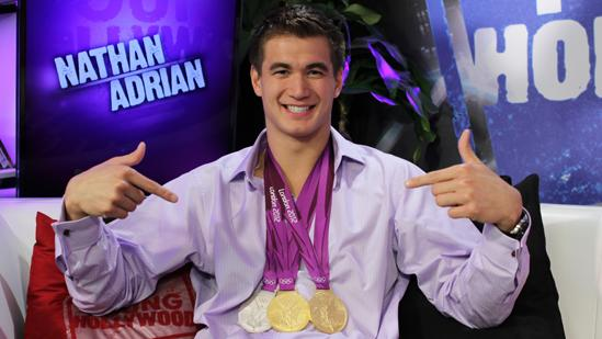 Olympic Swimmer Nathan Adrian Relays His Olympic Gold