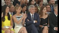 Jennifer Lawrence and Emma Watson hit Dior fashion show