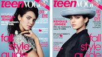 Kendall Jenner Fashions New IT-Girl on 2 Teen Vogue Covers