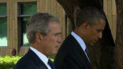 Raw: Obama, Bush Honor Tanzania Bomb Victims