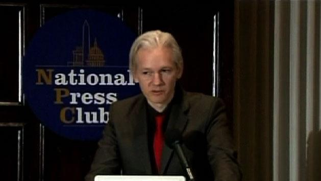 Assange cancels university talk