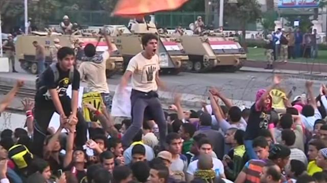 Mursi supporters protest as Egypt ends state of emergency