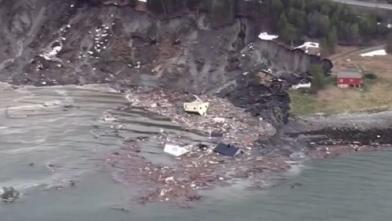驚悚!挪威8棟民宅 瞬間沉海