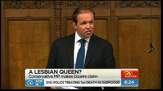 MP claims Queen could be lesbian