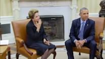Obama hosts Rousseff at White House