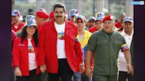 More Arrests In Venezuela Protests, Maduro Slams 'coup-seekers'