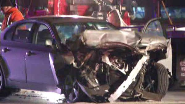 Driver crashes into tractor-trailer in Delaware County, Pa.