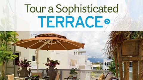 Barclay Butera's Sophisticated Terrace