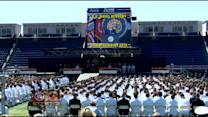 Vice President Biden Speaks At Naval Academy Graduation