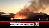 Small Plane Crashes, Catches Fire In Livermore Field