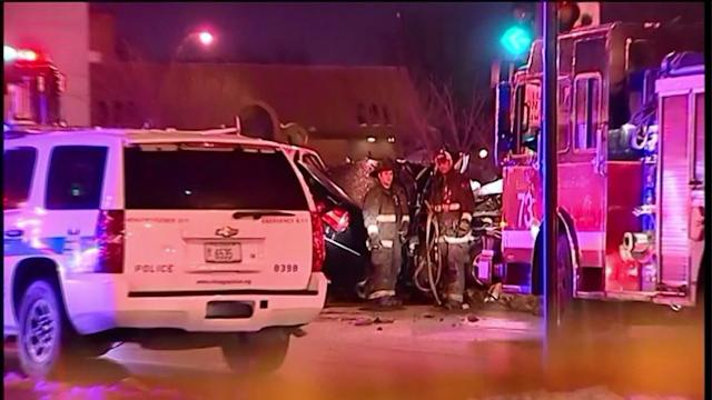 Off- duty Chicago officer killed after police chase