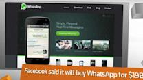 FACTBOX: Facebook to buy WhatsApp for a whopping $19 billion