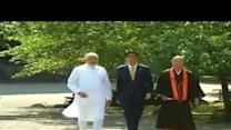 PM Narendra Modi Visits Toji Temple in Kyoto
