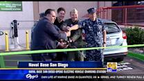 Naval Base San Diego opens electric vehicle charging station