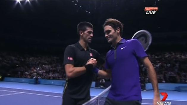Djokovic defeats Federer in ATP Tour final