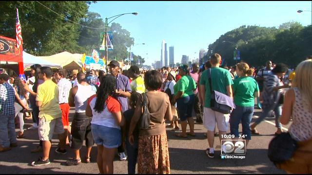 Taste Of Chicago Vendors Not Worried About Security