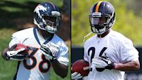 Montee Ball, Le'Veon Bell rookie running back battle