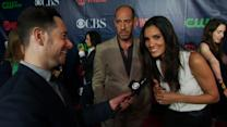 Fall Previews - CBS Press Tour Red Carpet: Daniela Ruah & Miguel Ferrer