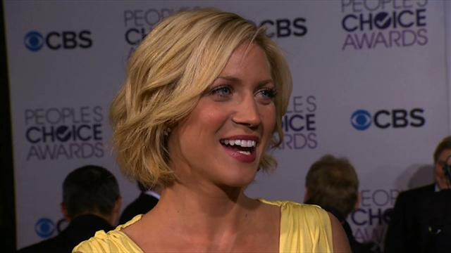 39th Annual People's Choice Awards - Red Carpet Interview: Brittany Snow