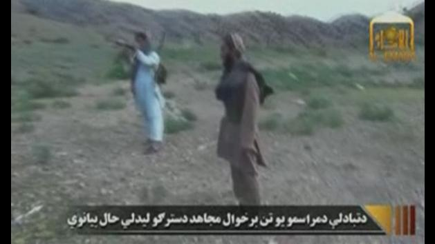 Taliban video shows release of US army sergeant