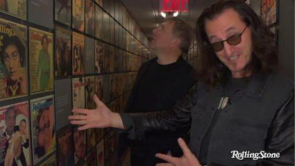Rush Take a Tour of Rolling Stone's Headquarters