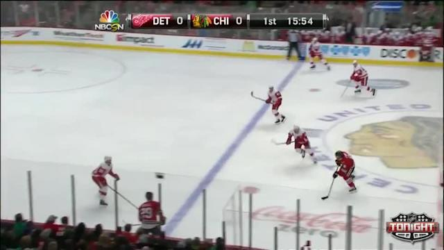 Detroit Red Wings at Chicago Blackhawks - 03/16/2014