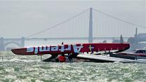 British Olympian dies in capsized America's Cup boat