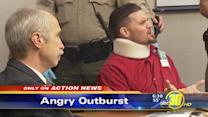 Convicted Fresno murderer lashes out