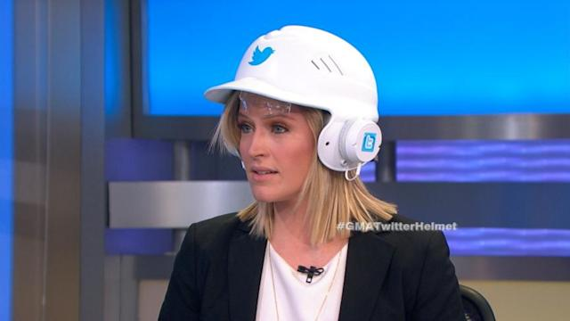 Twitter Helmet to Tweet With Your Head?