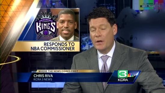 Mayor Johnson reacts to NBA commissioner's comments