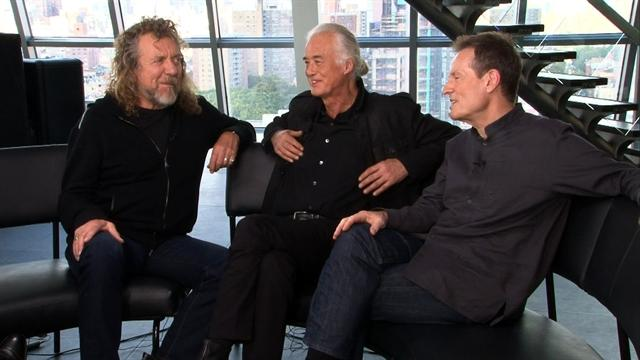 Web Excl.: Led Zeppelin address reunion questions