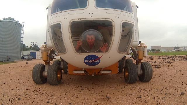 Roving the Moon and Mars in NASA's concept space explorer