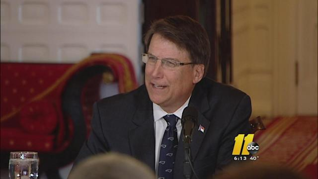 NC Gov. McCrory talks about year ahead