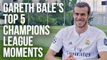 Gareth Bale's Top 5 Champions League Moments