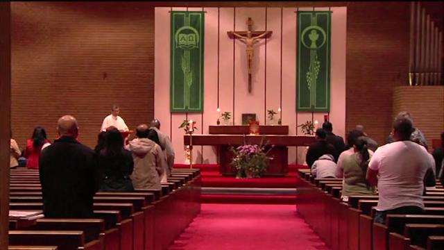 Parishioners Protest Removal Of Pastor Over Wine Drinking