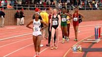 Cold Temps Not Slowing Teen Track Stars At Penn Relays